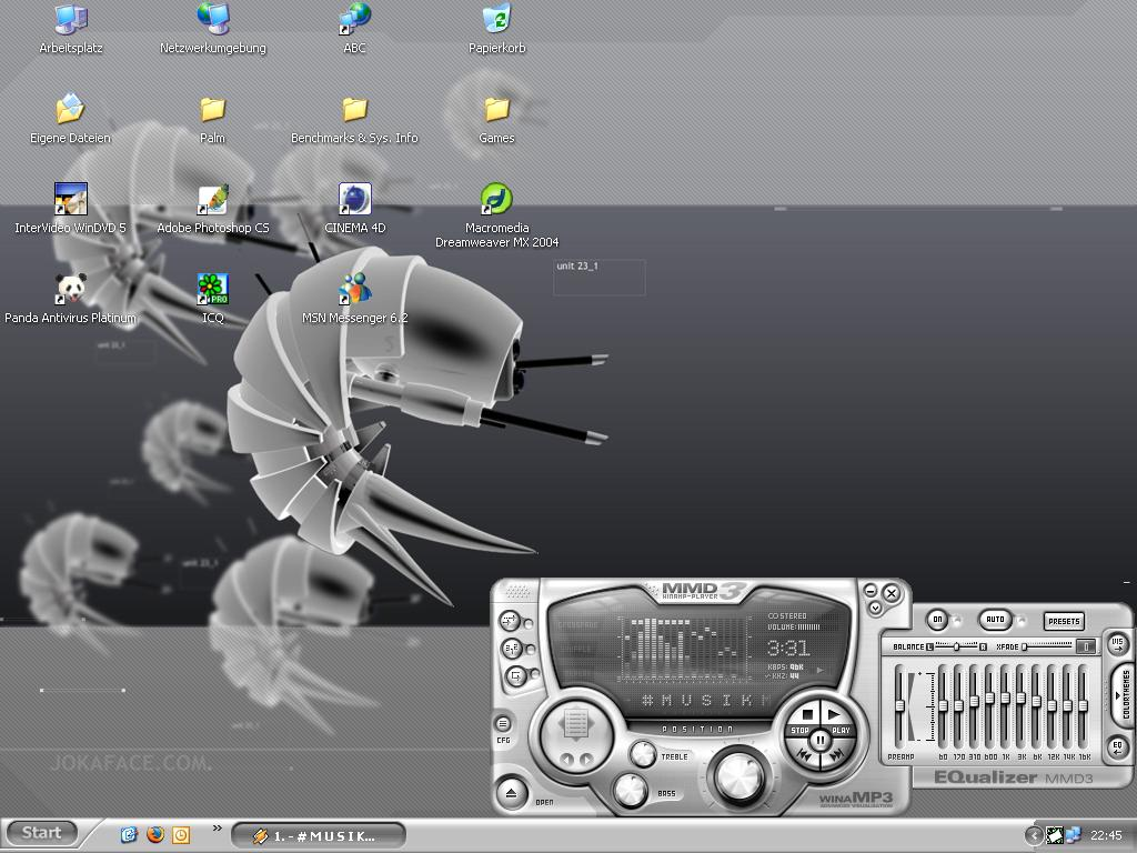 Title: reinsch's desktop