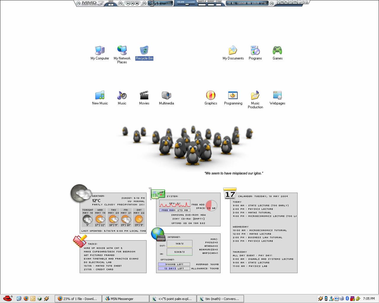 Title: Nic's desktop