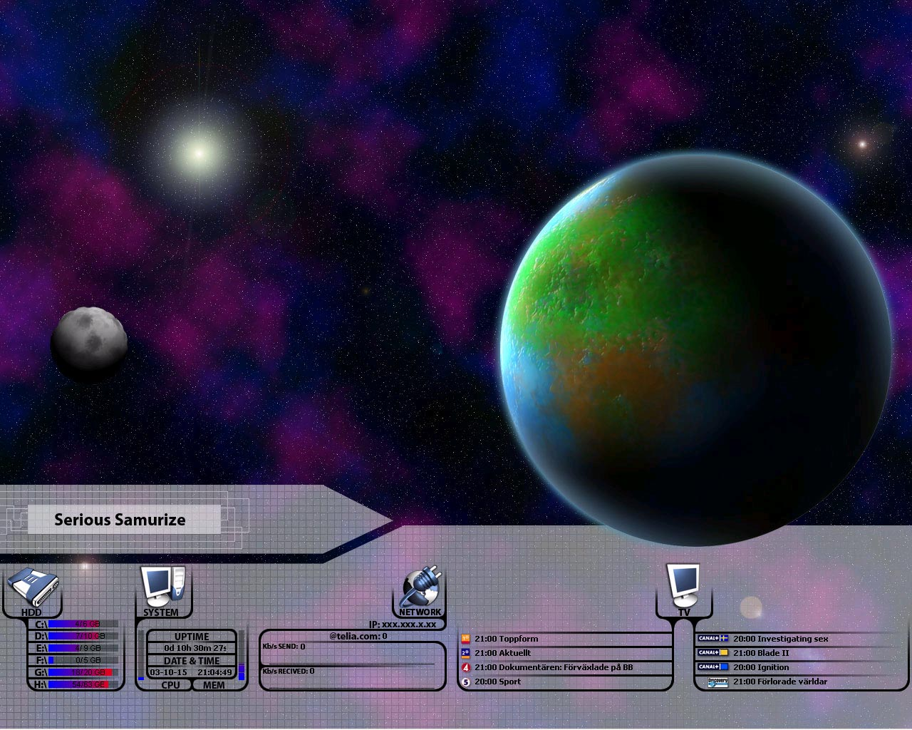 Title: Halvoos Desktop v.1