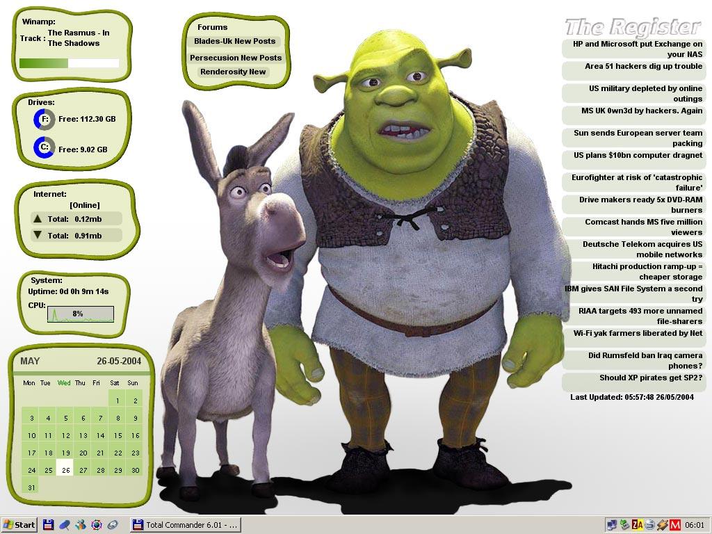 Title: Shrek-o-matic
