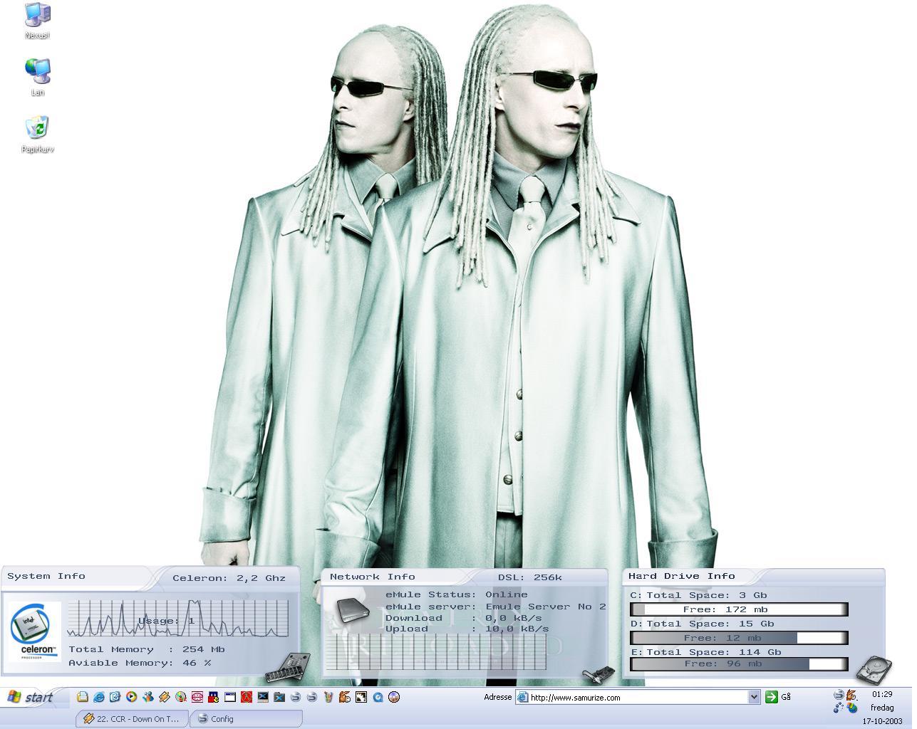 "Title: Nexus Matrix ""Twins"" config #4"