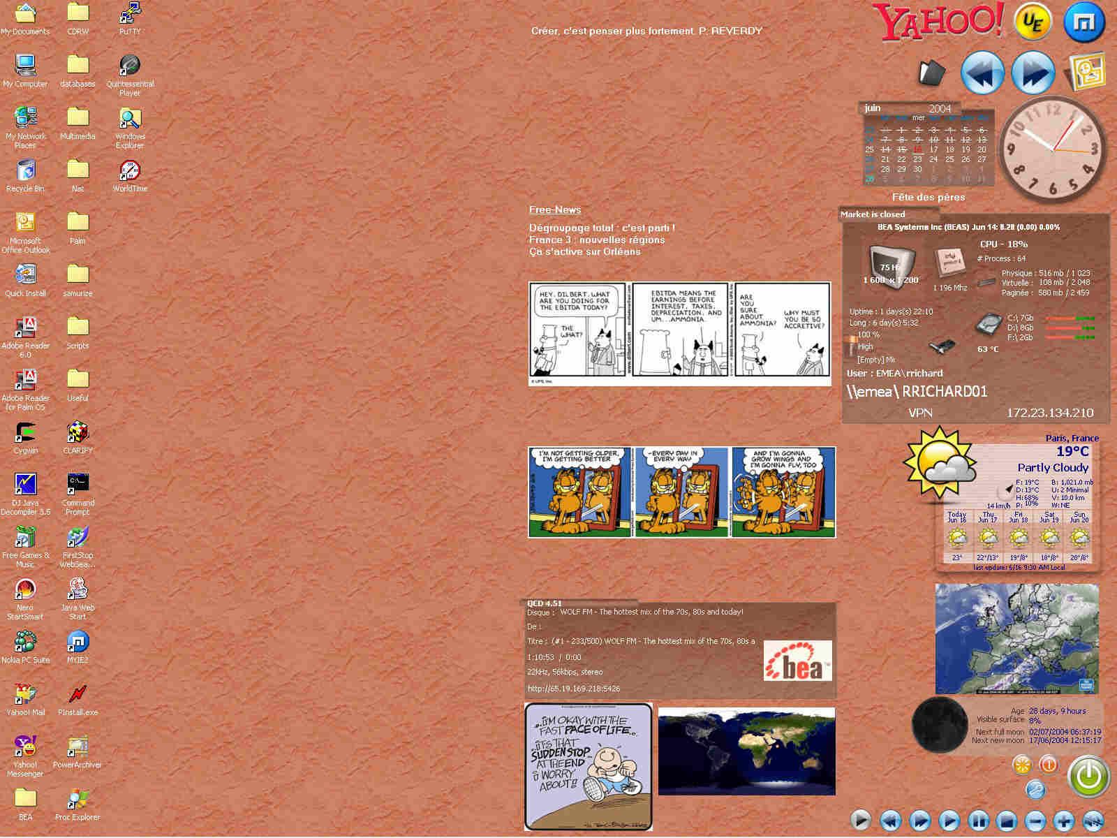 Title: My Work Laptop - 4 samurize instances