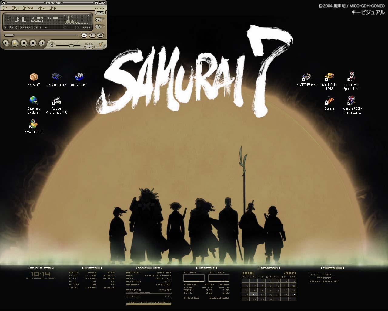 Title: samurai 7