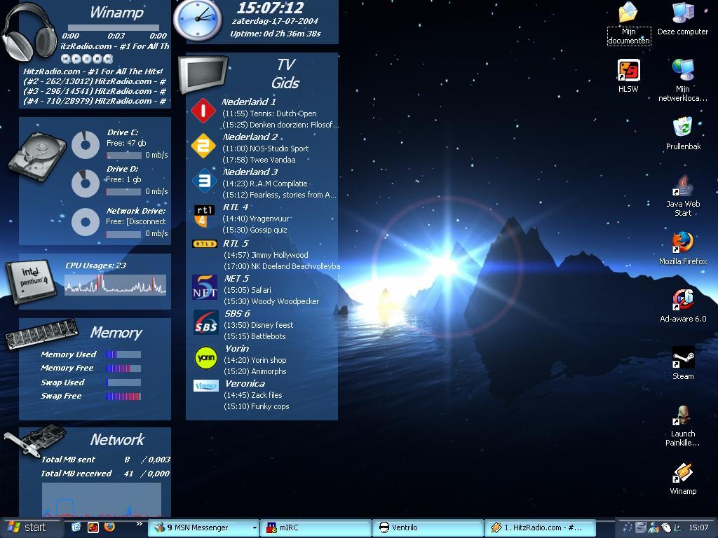 Title: ufear desktop