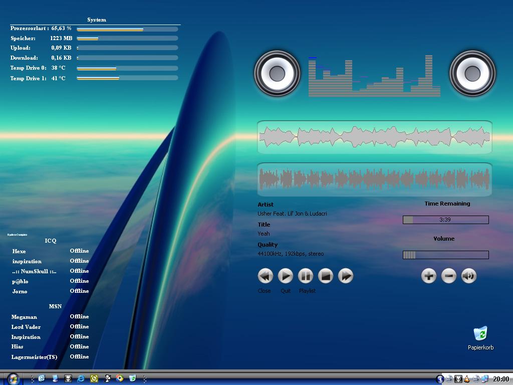 Title: My first desktop
