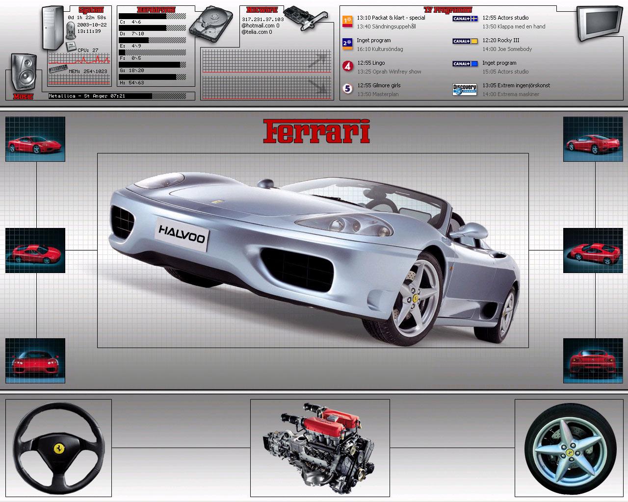 Title: Halvoos Desktop v.2 [Ferrari]
