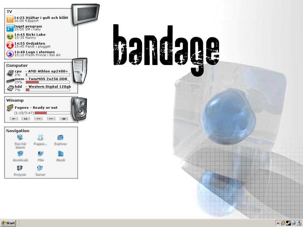 Title: bandage config v 1.0