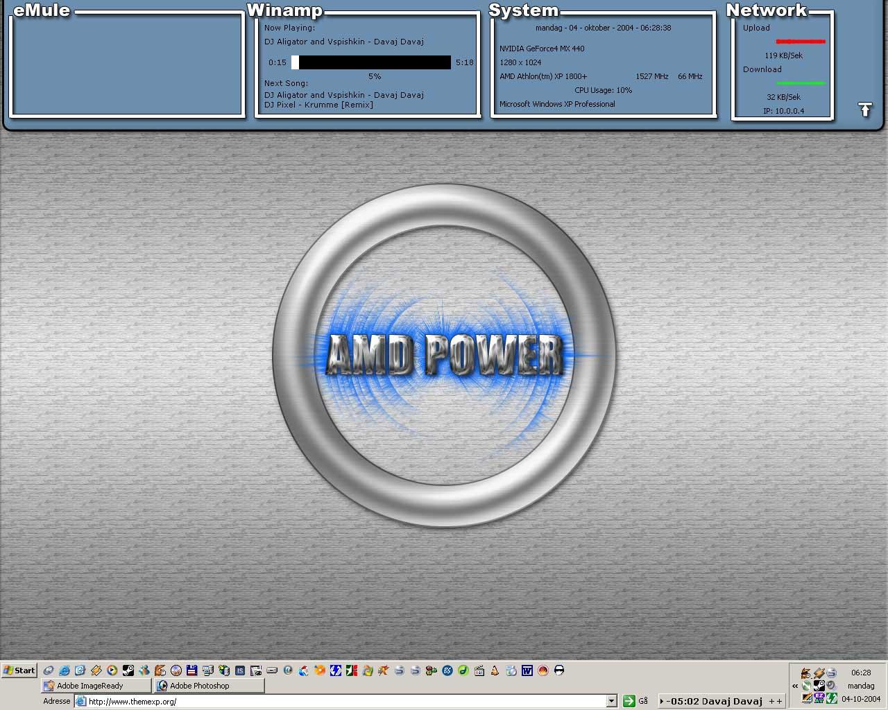 Title: AMD Power....