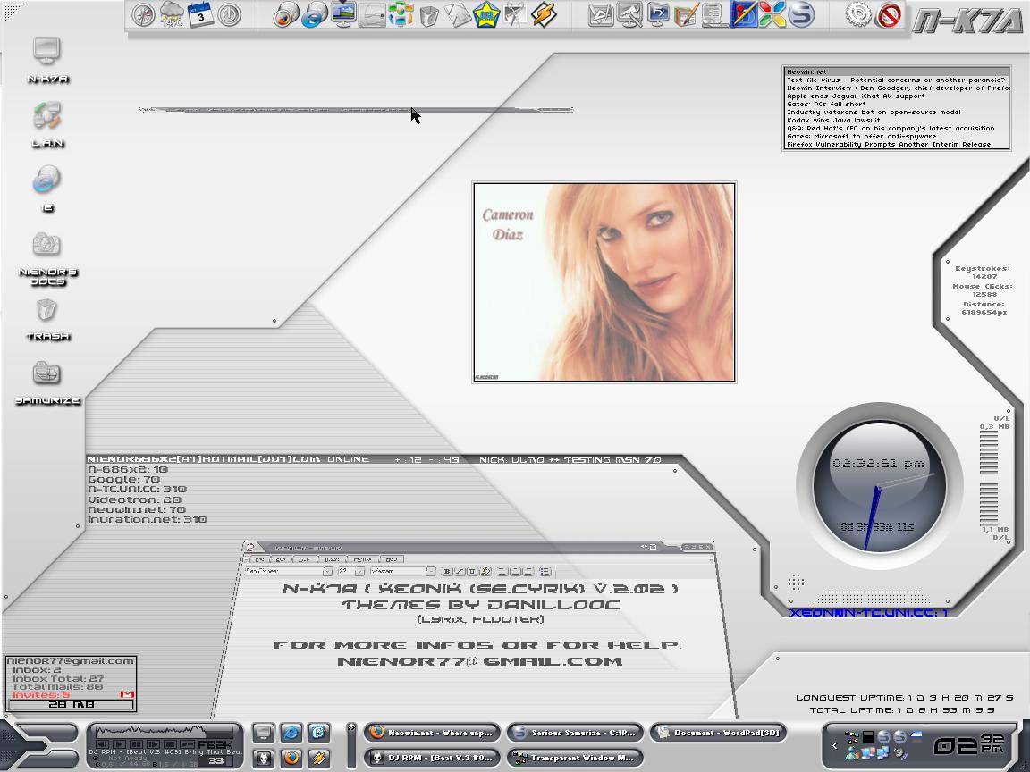 "Title: XeoniK ""CyriX"" V 2.2"