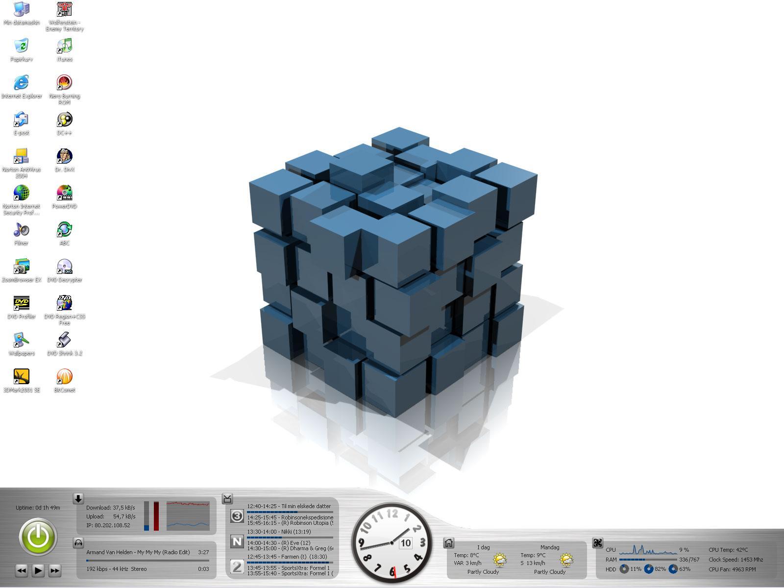 Title: Balle's 1'st Desktop