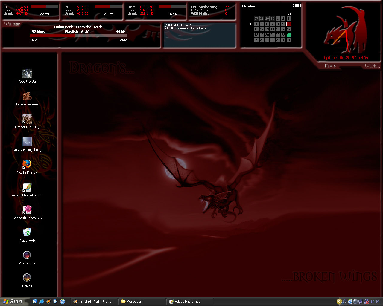 Title: Dragons Desktop 1280x1024