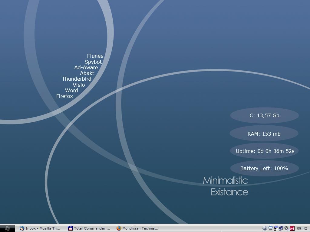 Title: My desktop at school.