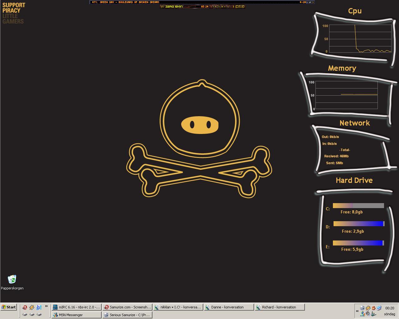 Title: znark's desktop