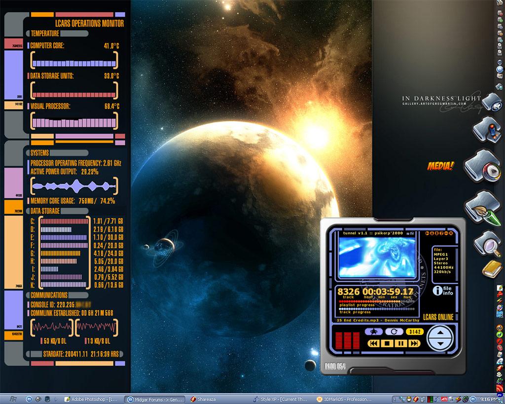 Title: LCARS Desktop