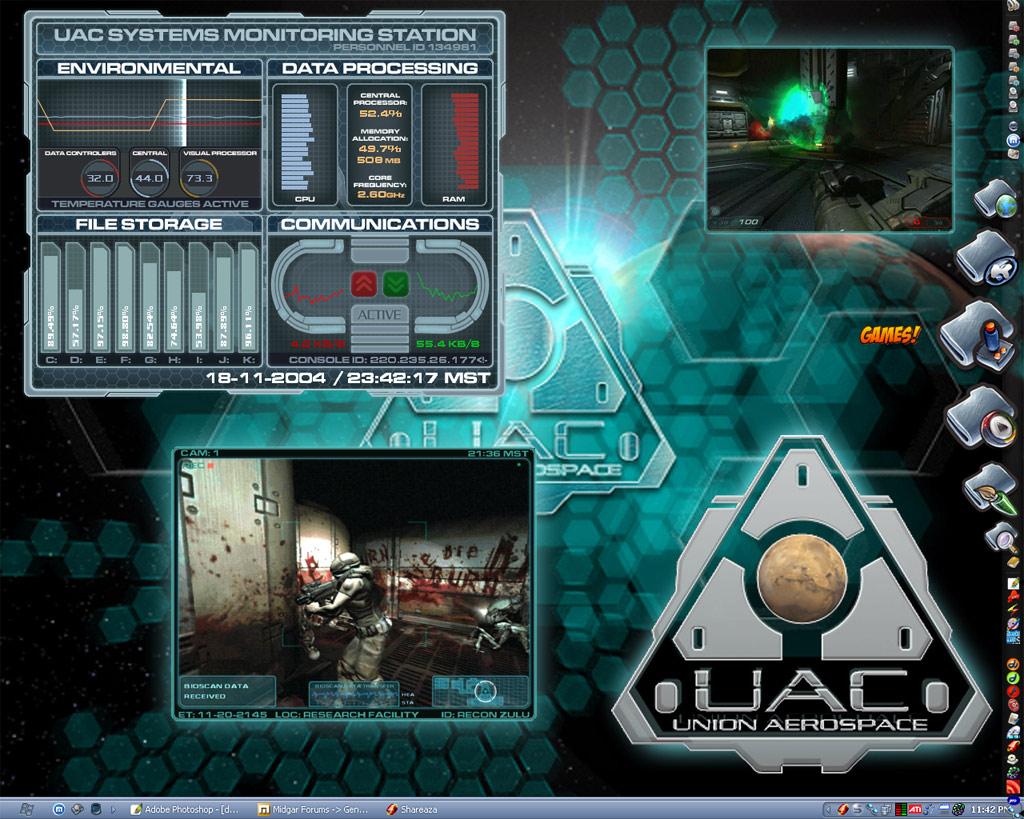 Title: UAC Desktop