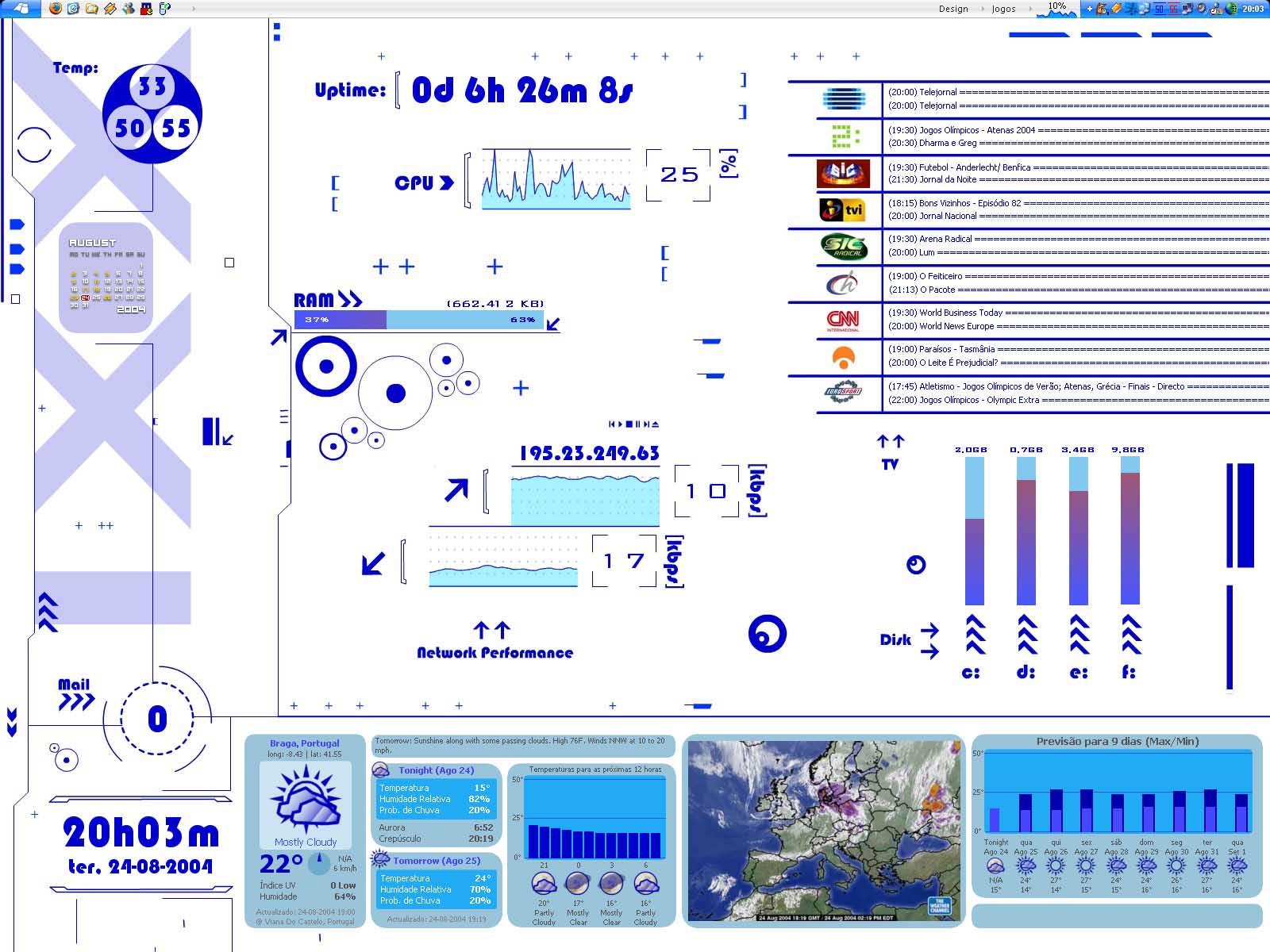 Title: DesktopXXI - blue