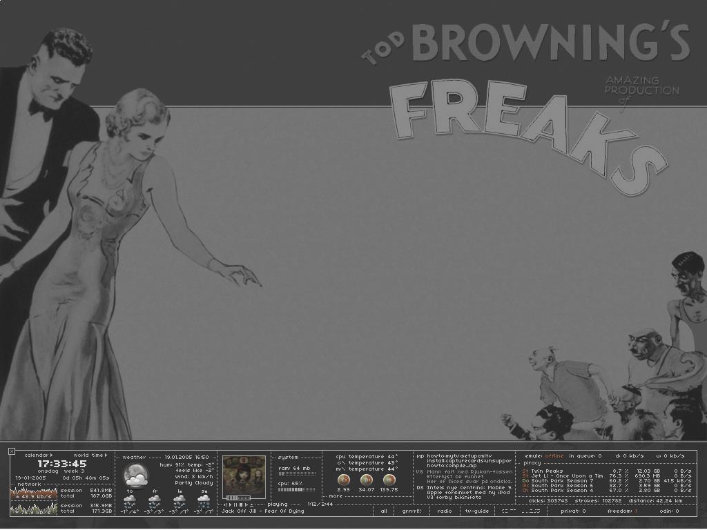 Title: Freaks