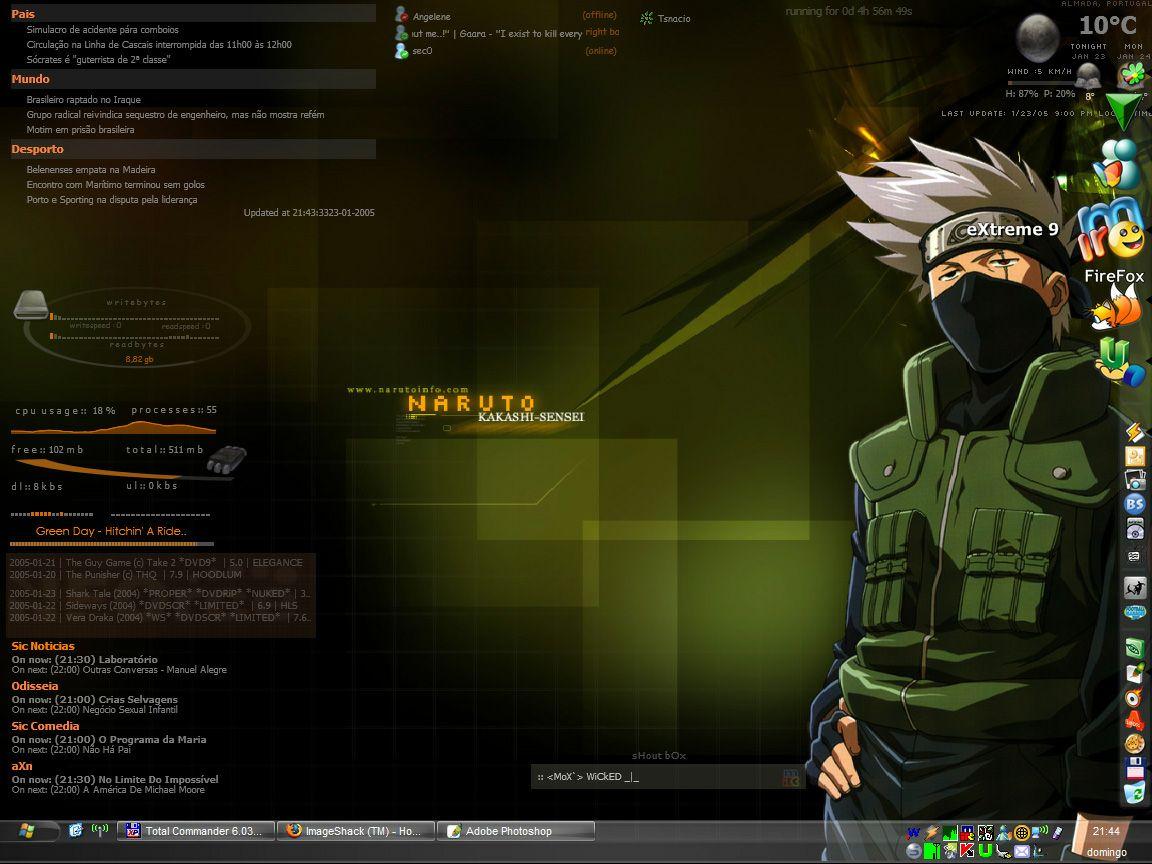 Samurize com - Screenshots