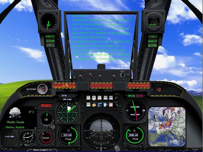 Title: Hank's Cockpit V1.0