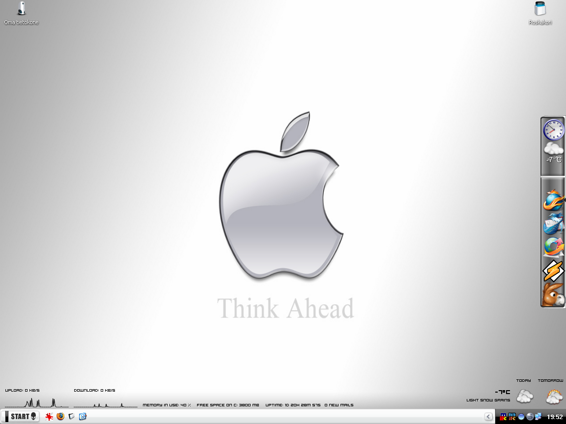 Title: Think Apple