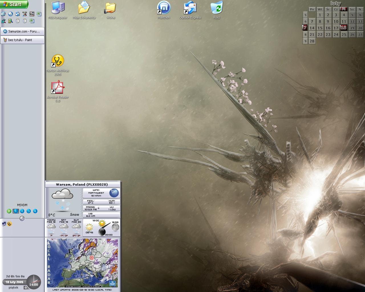 Title: My Latest Desktop
