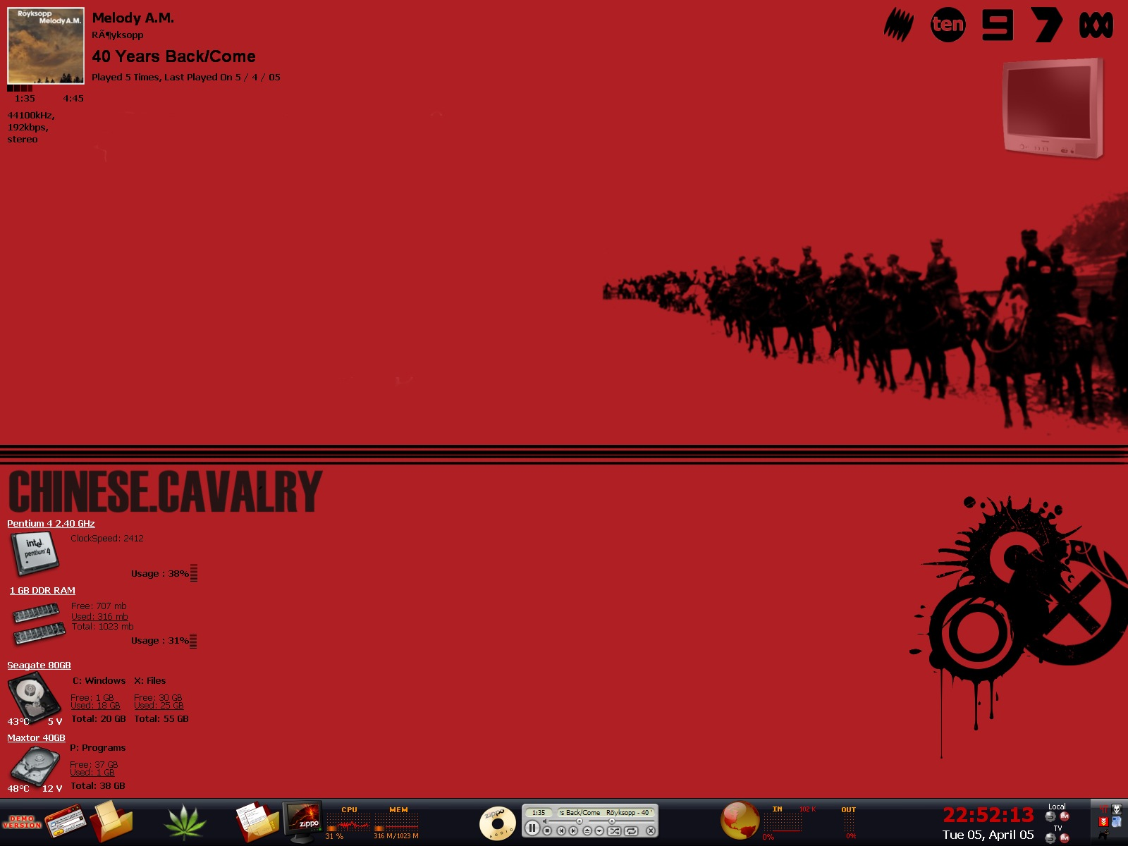 Title: Chinese Cavalry