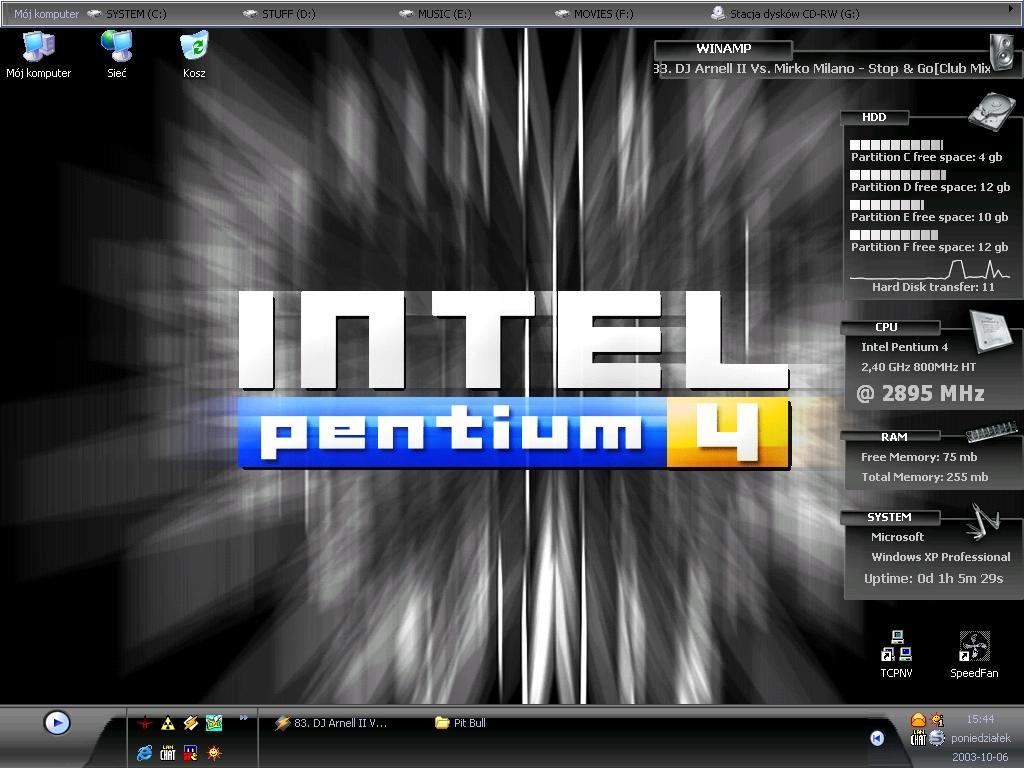 Title: RadeX desktop