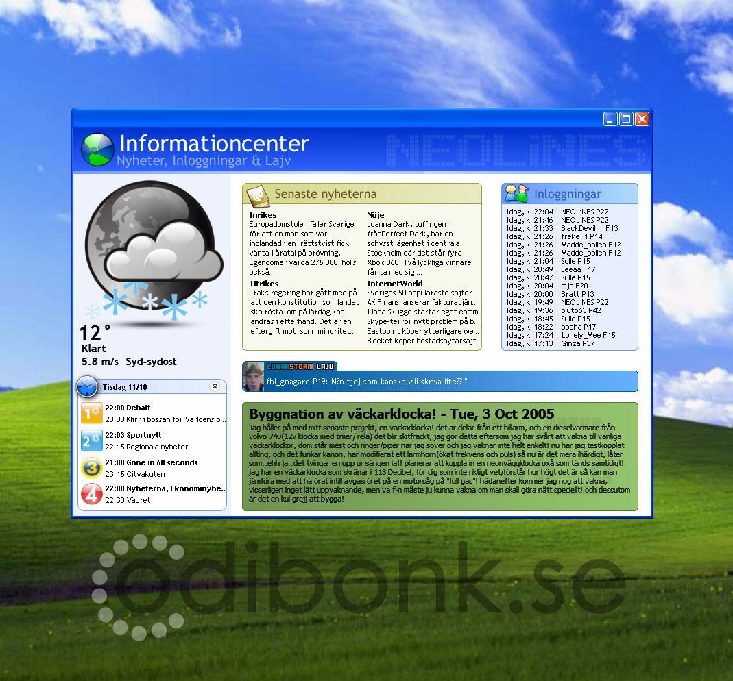 Title: Informationcenter