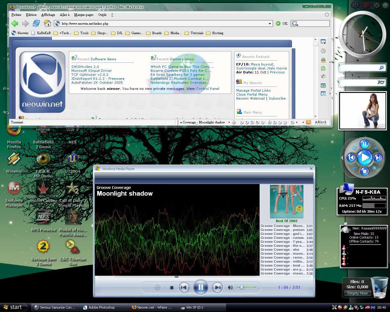 Title: Areo-Style Desktop 2