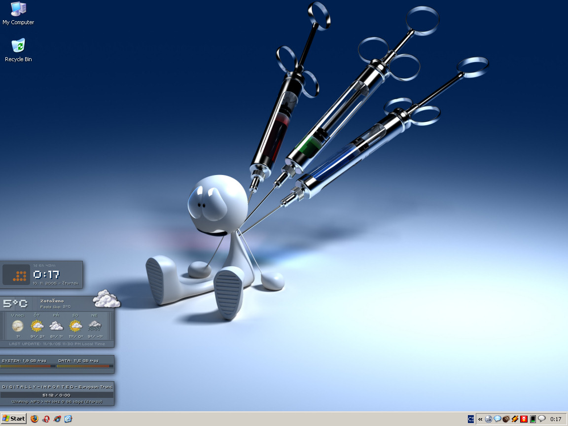 Title: My first samurized desktop