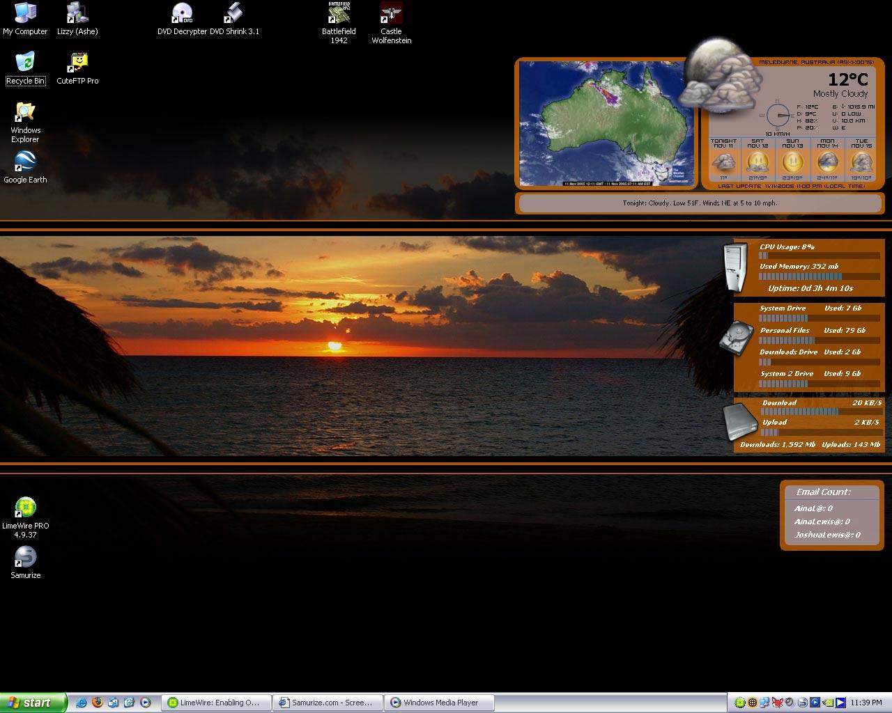 Title: Beach Sunset...