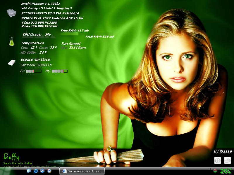 Title: Buffy-Desktheme