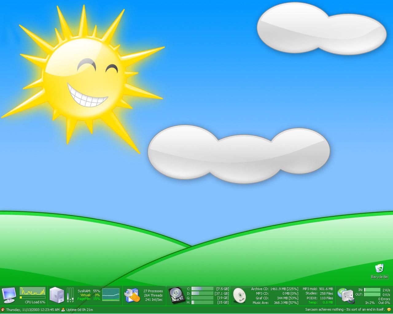 Title: Sunny Desktop