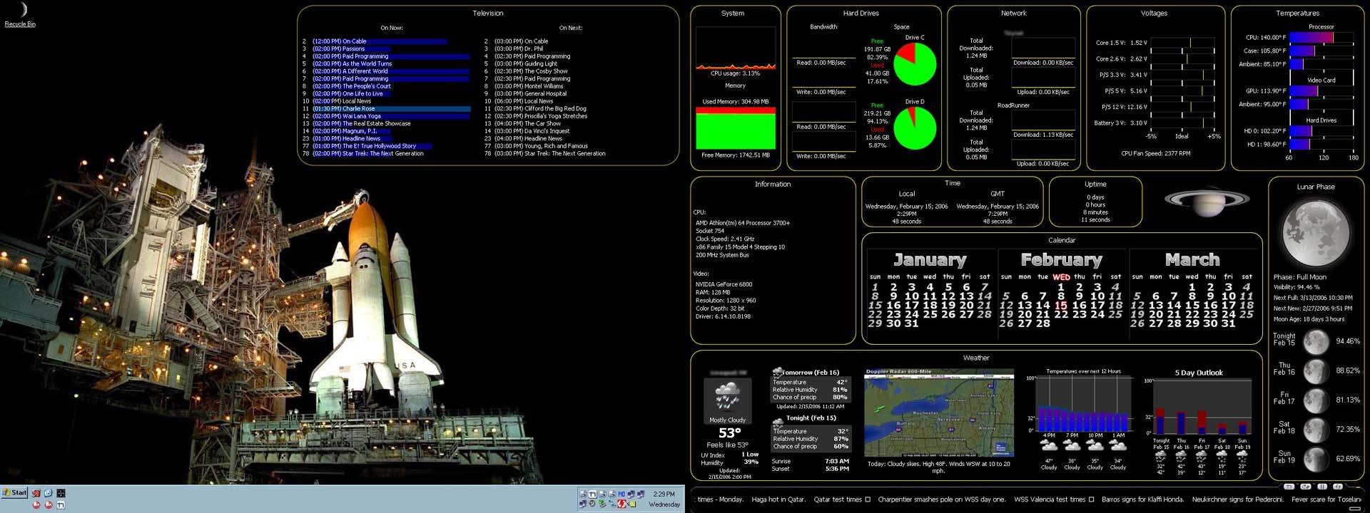 Title: Waldron's 32-bit desktop