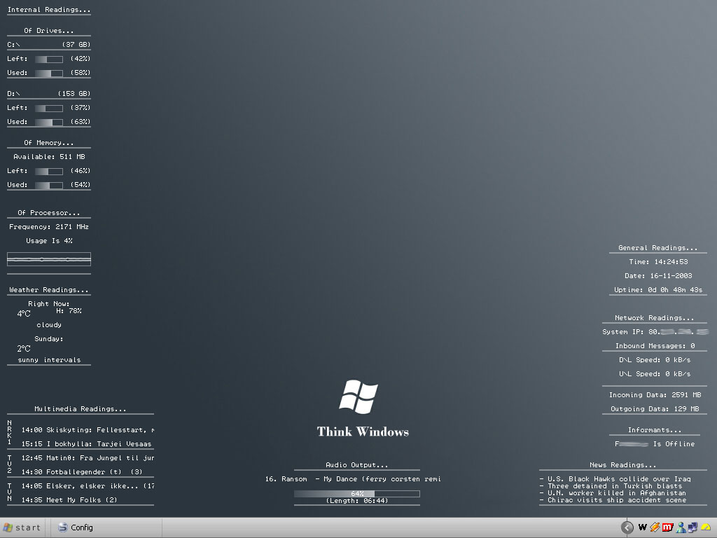 Title: Think Windows