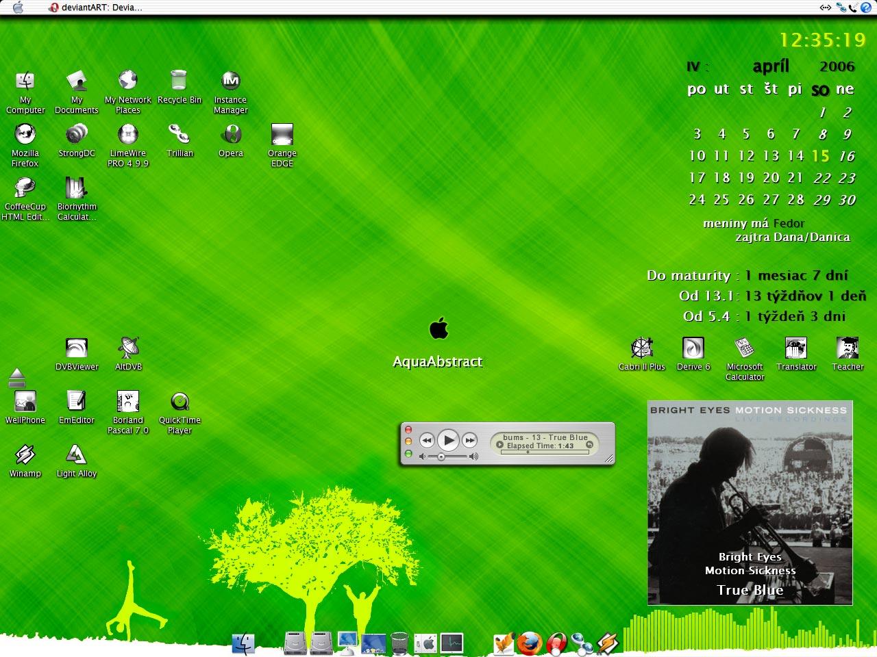 Title: Spring Alcatrazer's Desktop