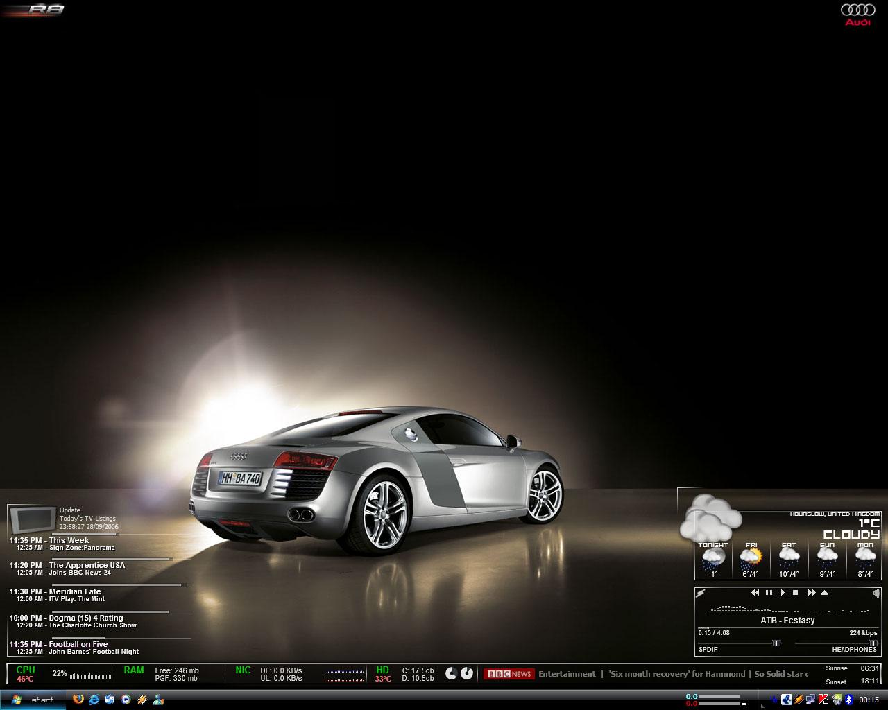 Title: Audi Black by asc`