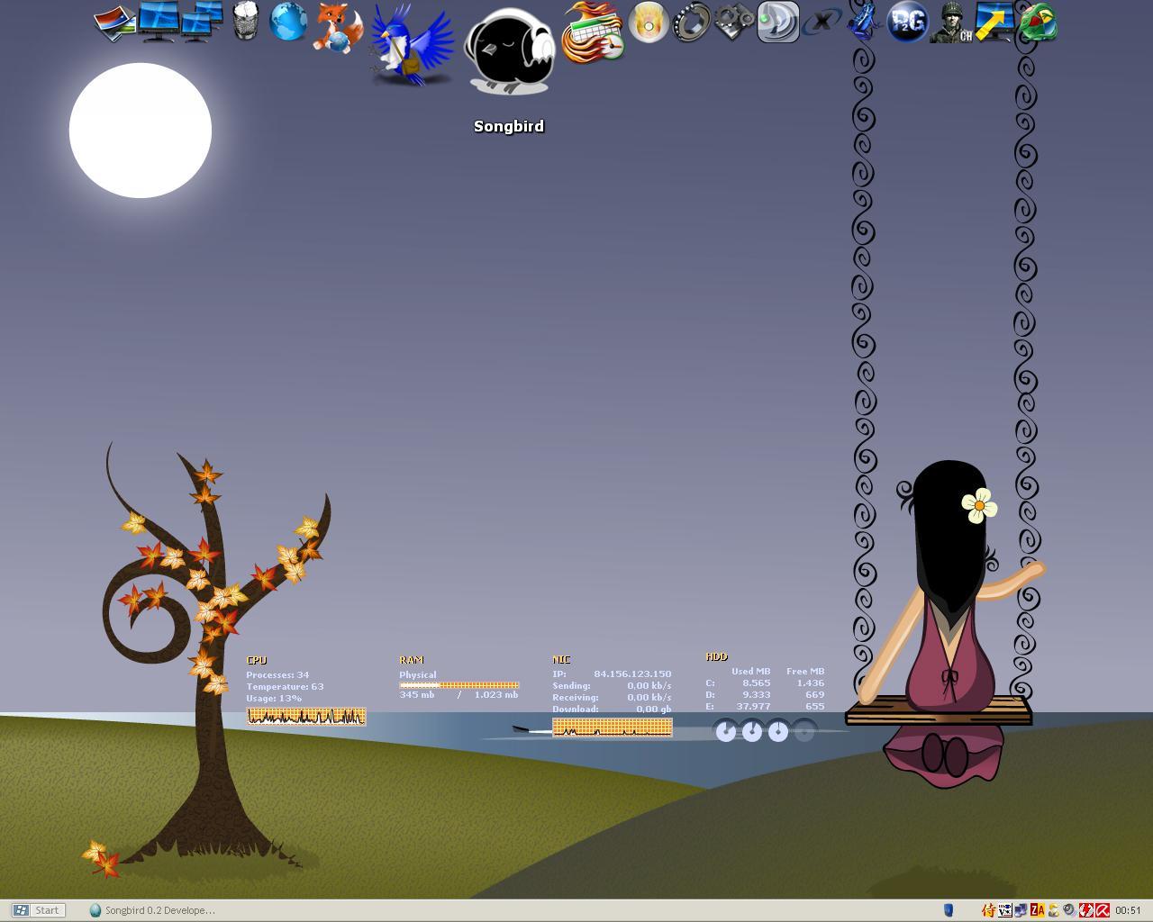 Title: Sauberer Desktop ^^