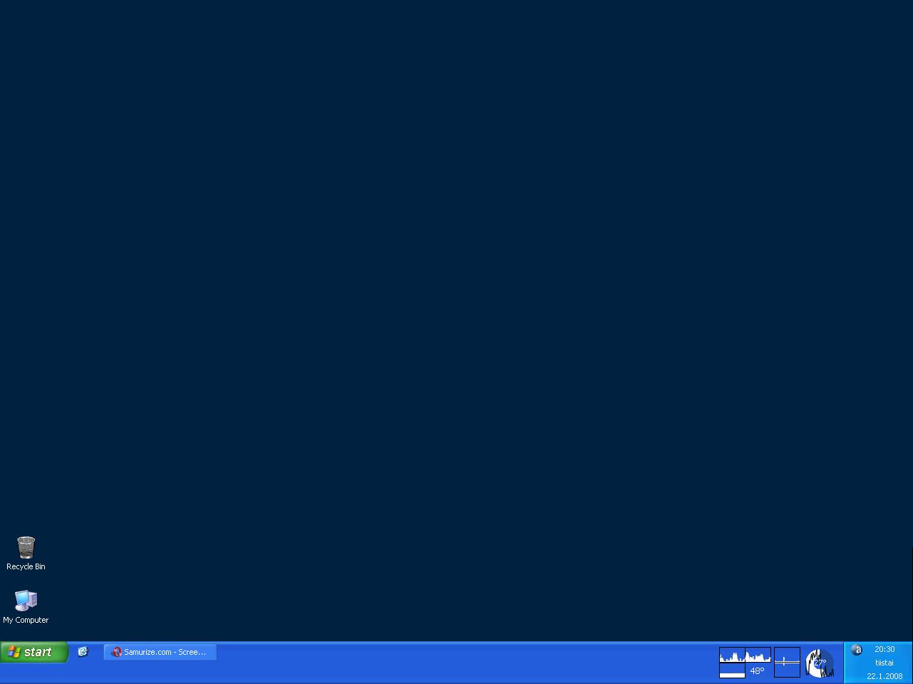 Title: My desktop at 22.1.2008
