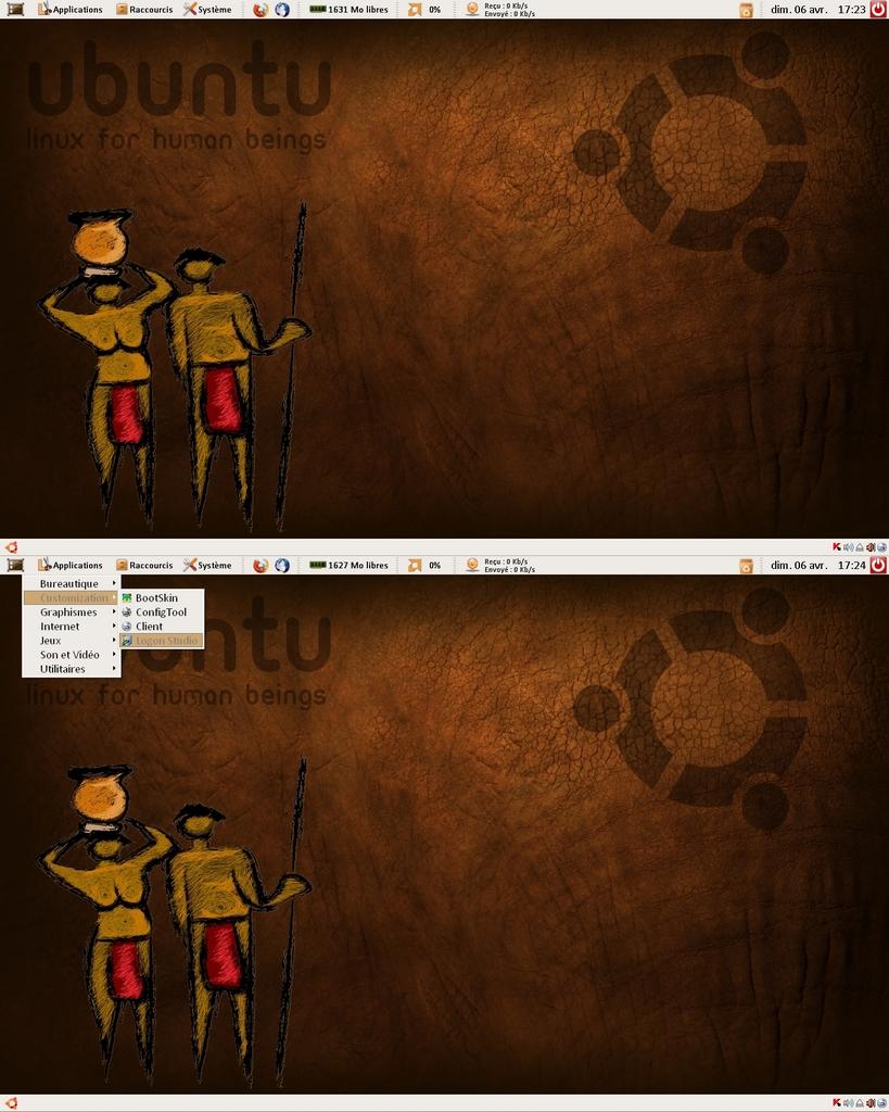 Title: Ubuntu XP