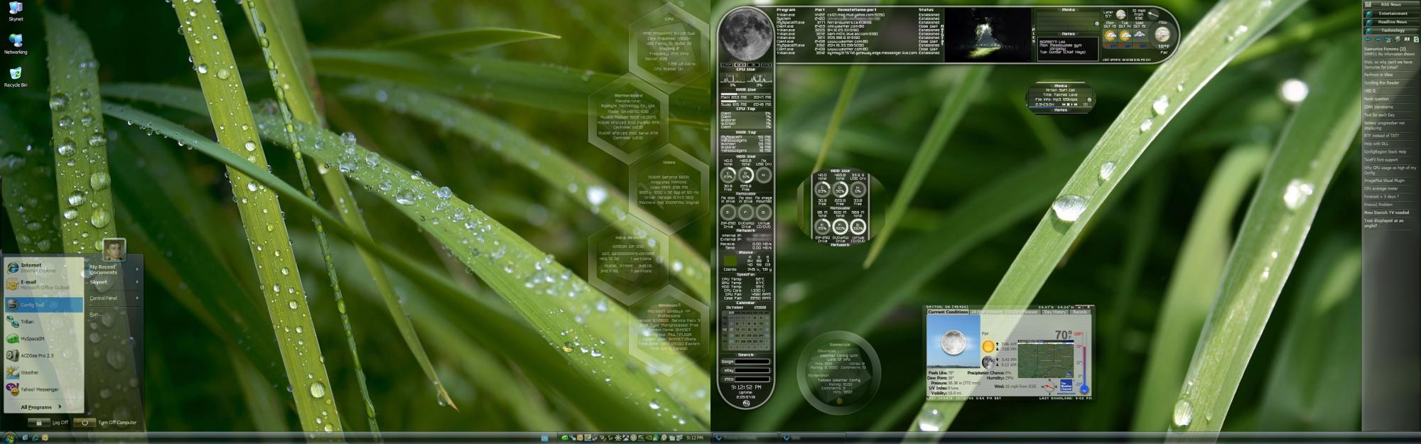 Title: Green Desktop
