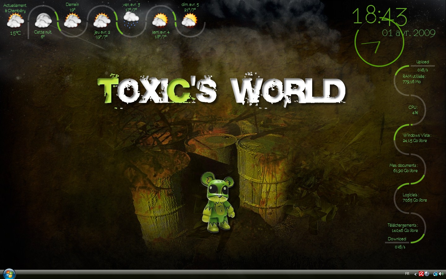 Title: My ToXiC's World