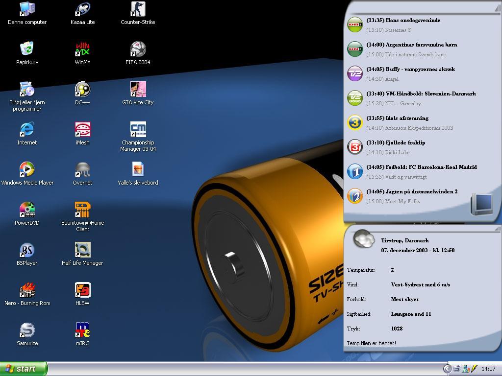 Title: Yalle's desktop