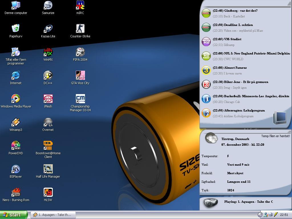 Title: Yalle's desktop 2