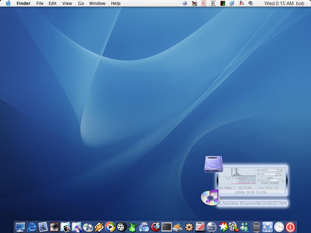 Title: mac desk