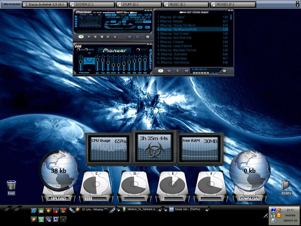 Title: RadeX's desktop :]