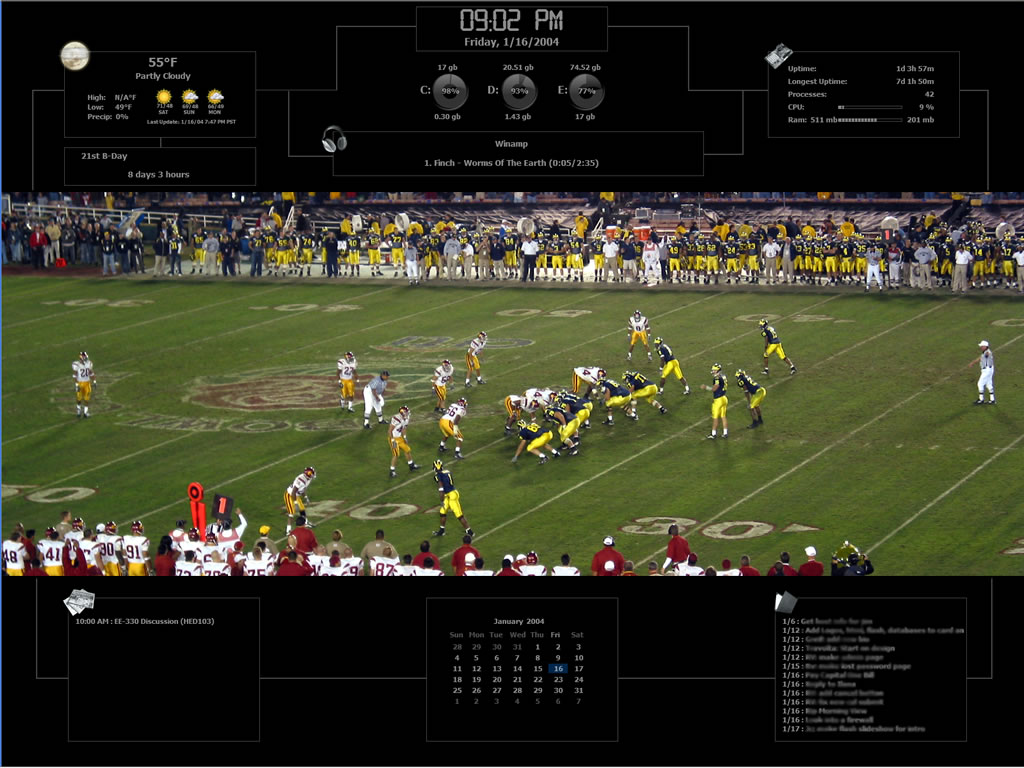 Title: Rose Bowl '04