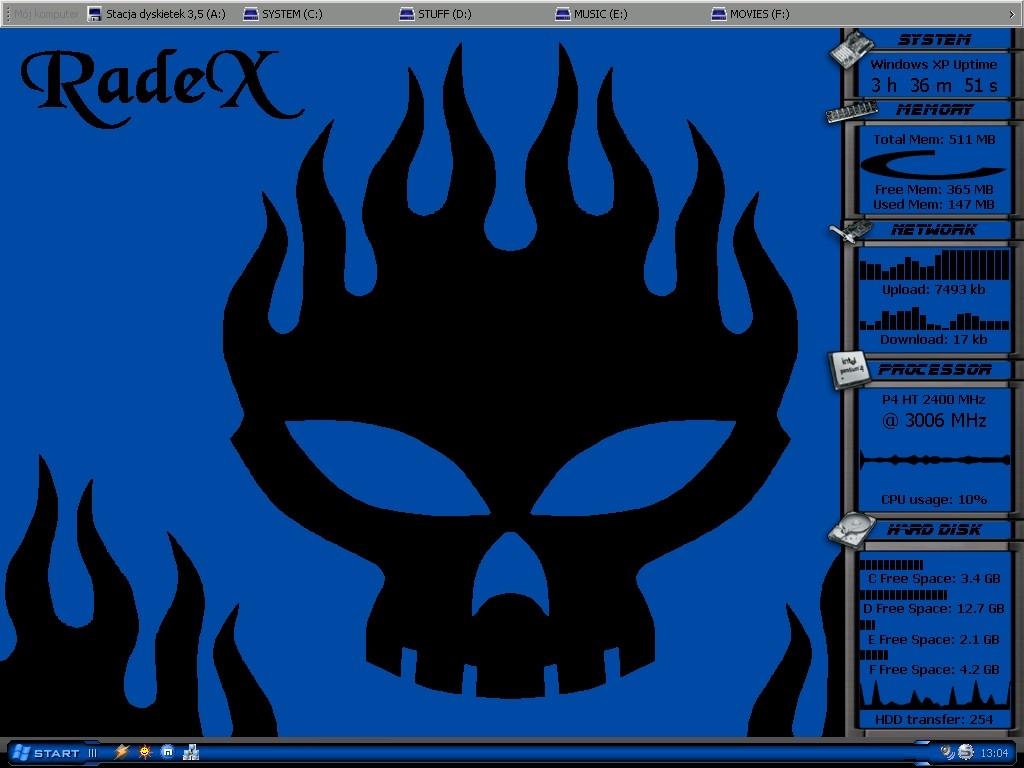 Title: RadeX's desktop