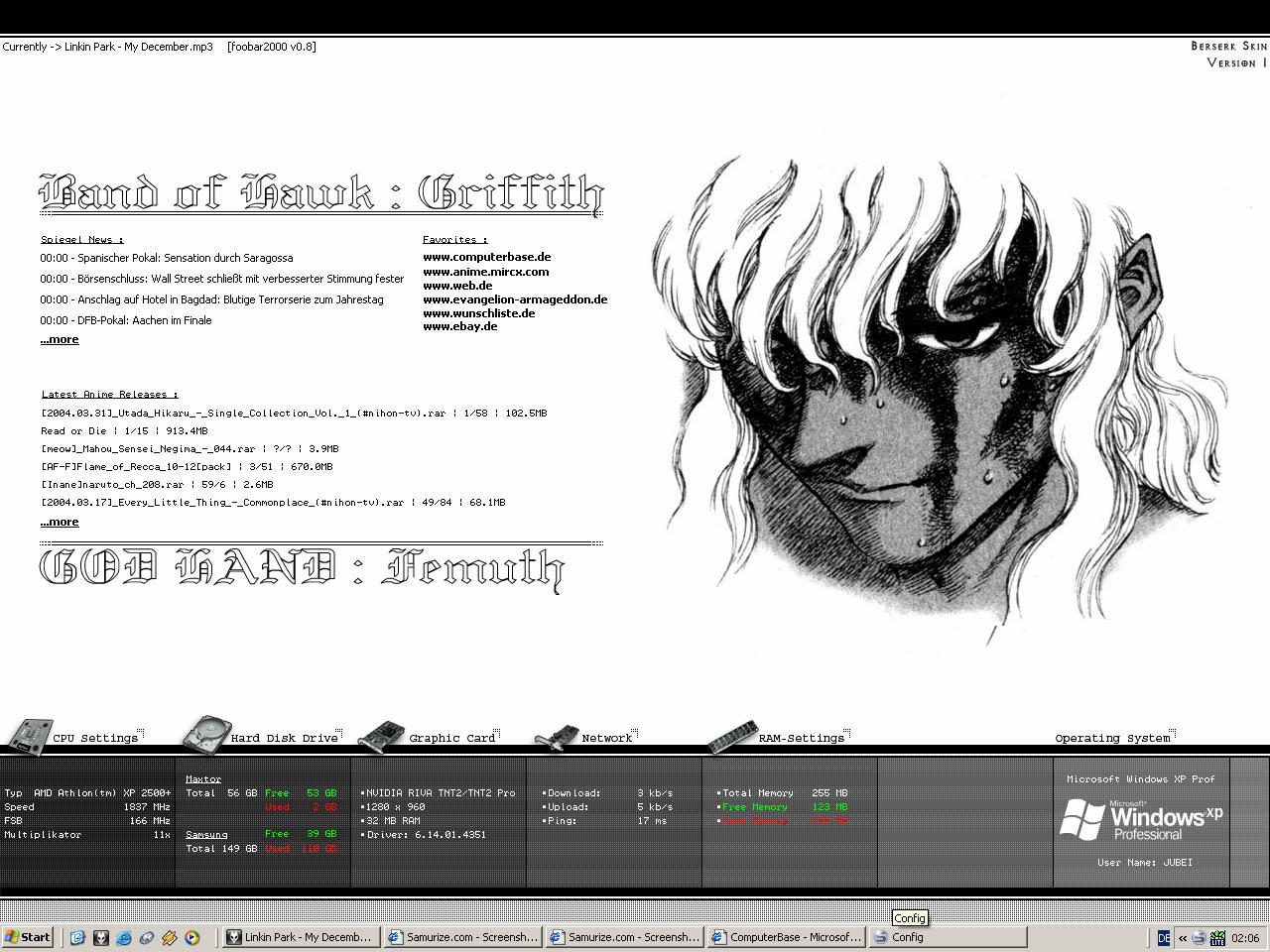 Title: Berserk Skin ver.1 || Griffith